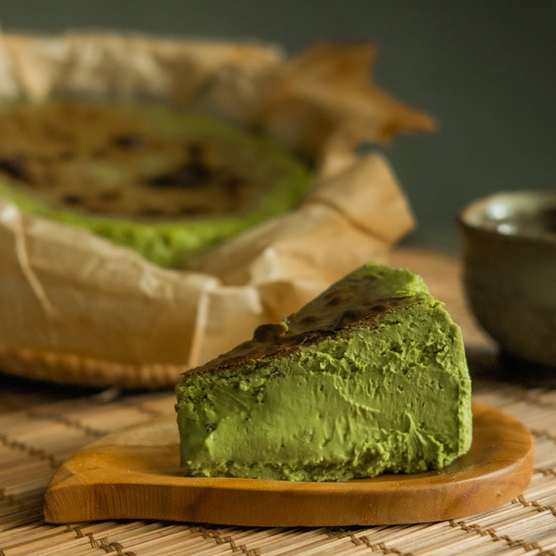 Kyoto Uji Matcha Burnt Cheesecake 6""