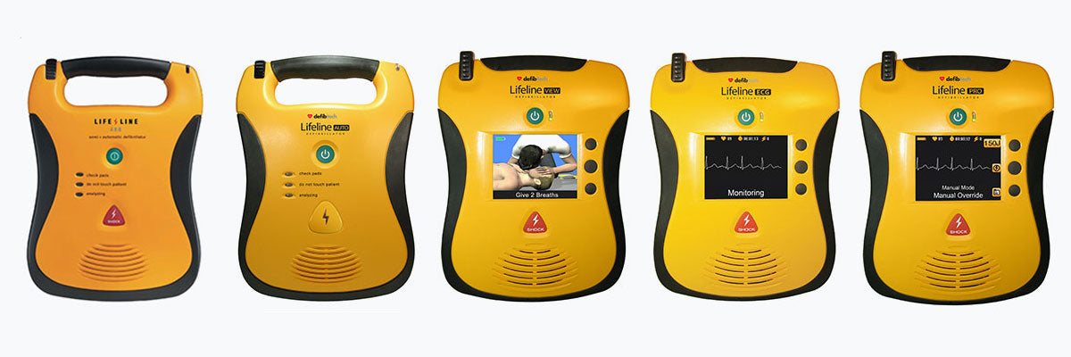 Defibtech range now available