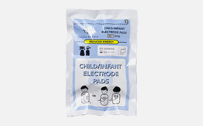 Cardiac Science Powerheart G3 Paediatric Electrode Pads