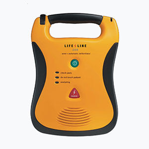 Defibtech Lifeline AED Semi-automatic Defibrillator with 7 Year Battery