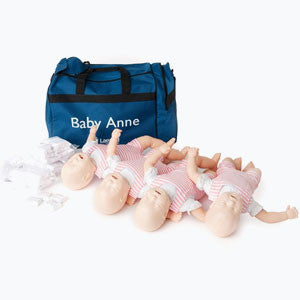 Laerdal Baby Anne CPR Training Manikin (4-Pack)