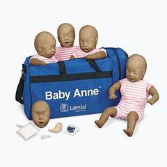 Laerdal Baby Anne Ethnic CPR Training Manikin (4 Pack)