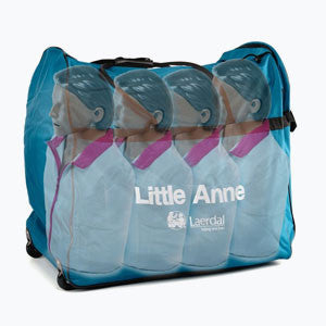 Laerdal Little Anne Ethnic CPR Training Manikin (4 Pack)