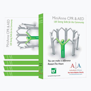 Laerdal Mini Anne CPR & AED Training Solution (5 Pack)