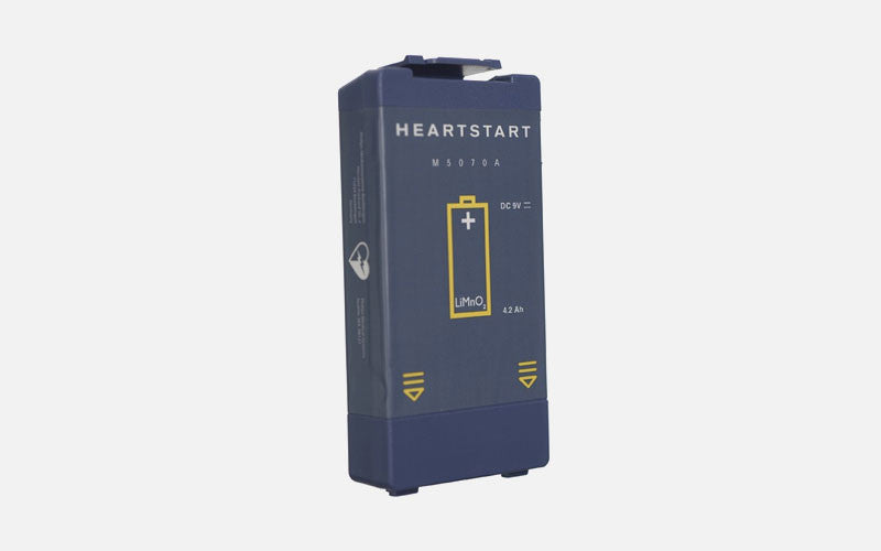 Philips HeartStart HS1 and FRx Non-rechargeable Lithium Battery