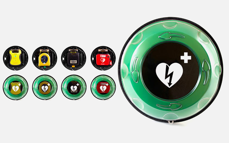 Rotaid Solid Plus Heat Indoor & Outdoor AED Cabinet
