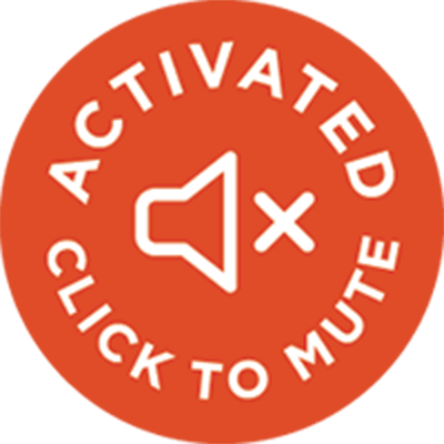 activated, click to mute