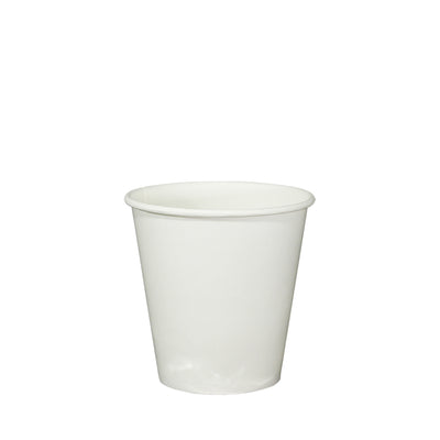 Single Wall White Paper Cups and Lids - Laser Packaging Machine MFG Pte Ltd