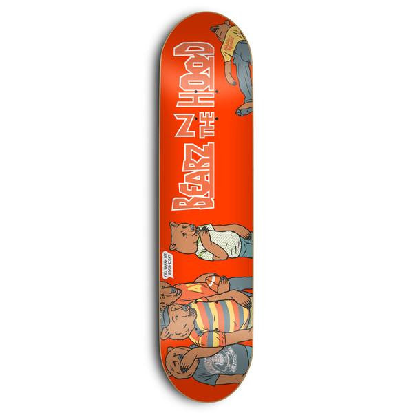 Grizzly Bearz in the Hood Skateboard - 8.375