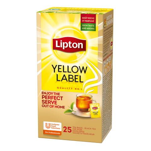 Lipton Yellow Label 6 x 25 pss
