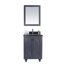 "Load image into Gallery viewer, LAVIVA Odyssey Collection 24"" Single Bath Vanity in Maple Grey and 20"" Undermount Rectangular Porcelain Sink"