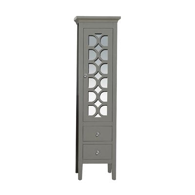 LAVIVA Mediterraneo Collection 16 x 67 Inch Sidecab in Grey