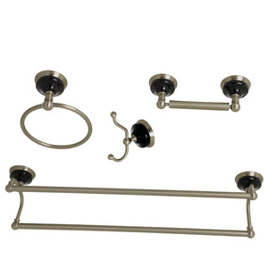 Kingston Brass Water Onyx 4-Piece Bathroom Accessory Set