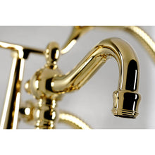 Load image into Gallery viewer, Kingston Brass Vintage Deck-Mount Clawfoot Tub Filler With Hand Shower