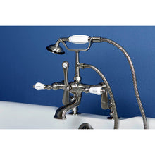 Load image into Gallery viewer, Kingston Brass Vintage Adjustable Center Deck Mount Tub Faucet