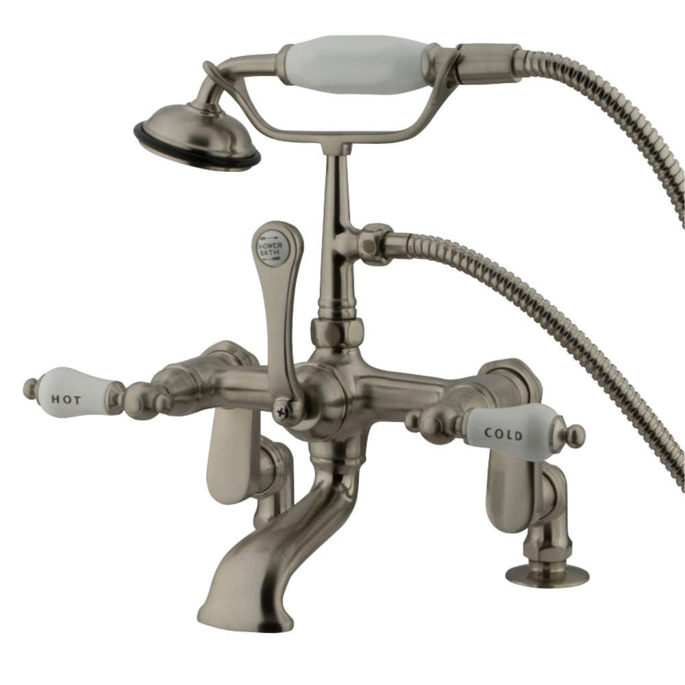 Kingston Brass Vintage Adjustable Center Deck Mount Tub Faucet