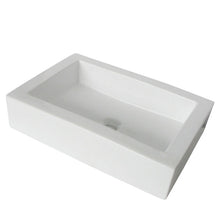 Load image into Gallery viewer, Kingston Brass Fauceture Pacifica Vessel Sink in White