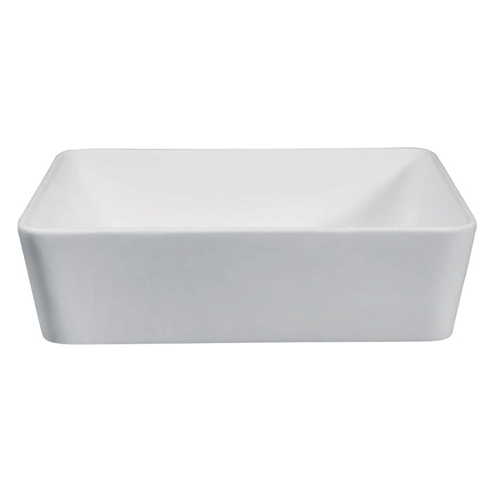 Kingston Brass Fauceture Arcticstone Solid Surface Matte Stone 18