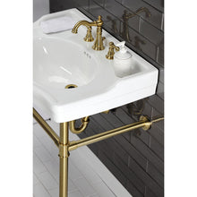 Load image into Gallery viewer, Kingston Brass American Classic Widespread Bathroom Faucet