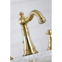 Load image into Gallery viewer, Kingston Brass Duchess Widespread Bathroom Faucet with Retail Pop-Up