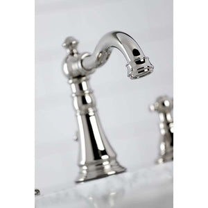 Kingston Brass Duchess Widespread Bathroom Faucet with Retail Pop-Up