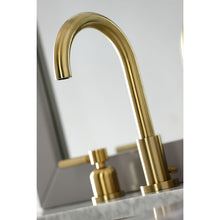 Load image into Gallery viewer, Kingston Brass Concord Widespread Bathroom Faucet with Matching Pop-Up Drain