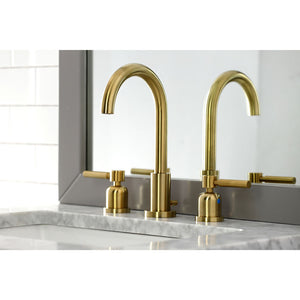 Kingston Brass Concord Widespread Bathroom Faucet with Matching Pop-Up Drain