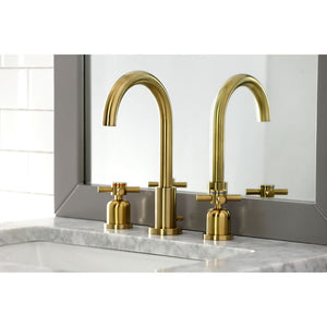 Kingston Brass Concord Widespread Bathroom Faucet with Cross Handles