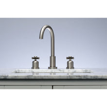 Load image into Gallery viewer, Kingston Brass Millennium Widespread Bathroom Faucet with Cross Handles