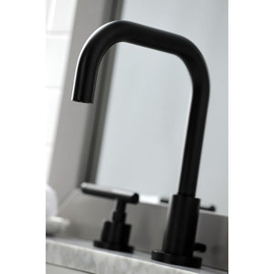 Kingston Brass Kaiser Widespread Bathroom Faucet with Matching Pop-Up Drain