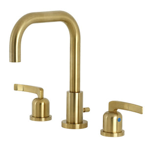 Kingston Brass Centurion Widespread Bathroom Faucet with Brass Pop-Up