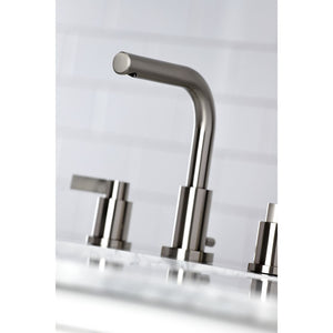 Kingston Brass NuvoFusion 8 in. Widespread Bathroom Faucet with Matching Pop-Up Drain