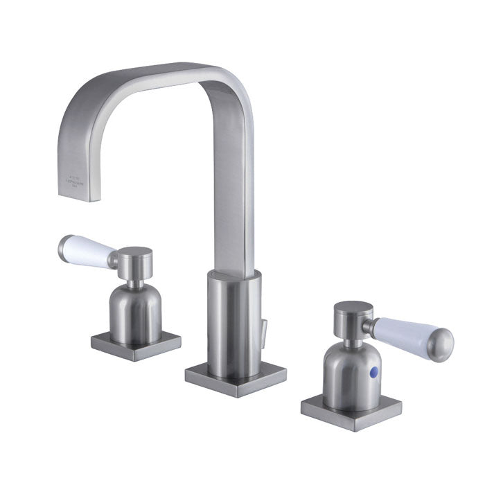Kingston Brass Paris 8 in. Widespread Bathroom Faucet