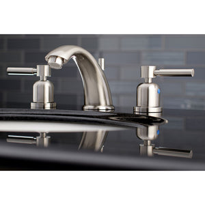 Kingston Brass Concord 8 in. Widespread Bathroom Faucet with Retail Pop-Up