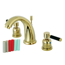 Load image into Gallery viewer, Kingston Brass Kaiser 8 in. Widespread Bathroom Faucet with Brass Pop-Up