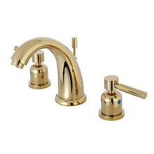 Load image into Gallery viewer, Kingston Brass Concord 8 in. Widespread Bathroom Faucet with Retail Pop-Up Drain