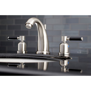 Kingston Brass Kaiser 8 in. Widespread Bathroom Faucet with Brass Pop-Up