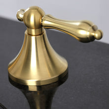 Load image into Gallery viewer, Kingston Brass Vintage 8 in. Widespread Bathroom Faucet with Retail Pop-Up Drain
