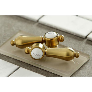 Kingston Brass Heirloom 8 in. Widespread Bathroom Faucet