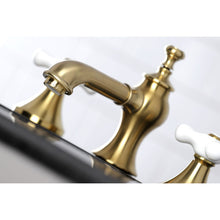 Load image into Gallery viewer, Kingston Brass Vintage 8 in. Cross Handle Widespread Bathroom Faucet