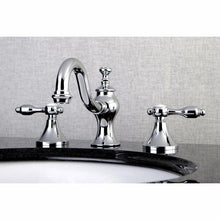 Load image into Gallery viewer, Kingston Brass Tudor 8 in. Widespread Bathroom Faucet with Metal Lever Handles