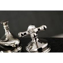 Load image into Gallery viewer, Kingston Brass Heritage 8 in. Widespread Bathroom Faucet with Metal Cross Handles