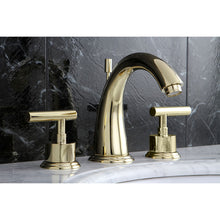 Load image into Gallery viewer, Kingston Brass Manhattan 8 in. Widespread Bathroom Faucet with Pop-Up
