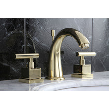 Load image into Gallery viewer, Kingston Brass Claremont 8 in. Widespread Bathroom Faucet with Pop-Up Drain