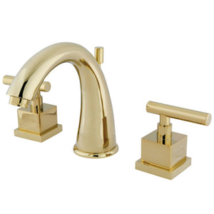 Kingston Brass Claremont 8 in. Widespread Bathroom Faucet with Pop-Up Drain
