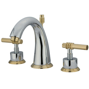 Kingston Brass Milano 8 in. Widespread Bathroom Faucet