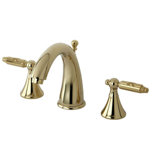 Kingston Brass Elinvar 8 in. Widespread Bathroom Faucet with Matching Pop-Up Drain