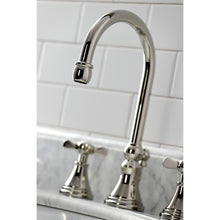 Load image into Gallery viewer, Kingston Brass Essex Widespread Bathroom Faucet with Brass Pop-Up