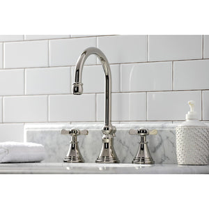 Kingston Brass Essex Widespread Bathroom Faucet with Brass Pop-Up