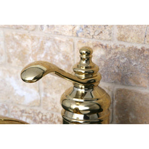 "Kingston Brass Templeton 4"" Single Handle Bathroom Faucet"